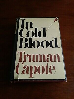In Cold Blood Truman Capote 1965 Book Club Edition 592 Hardcover Dust Jacket