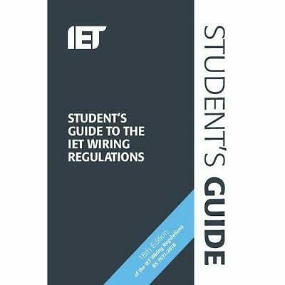 Student's Guide to the IET­ Wiring Regulations (Electri - Spiral Bound NEW Devin