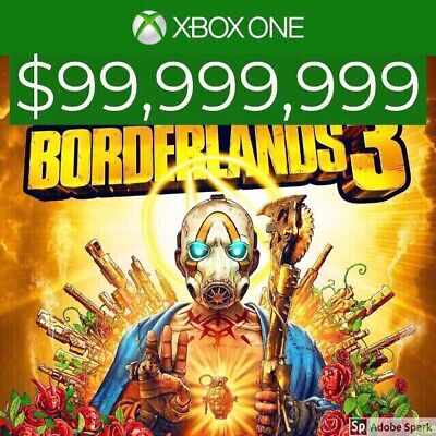 Borderlands 3 - Max Cash ($99,999,999) - XBOX ONE ONLY