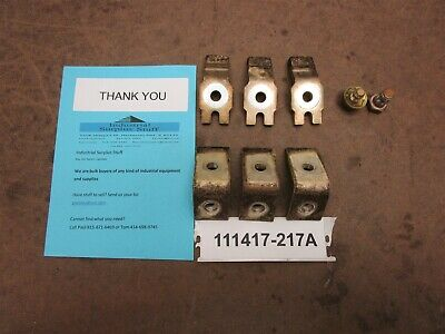 Lot of Allen Bradley SZ4 Contacts only 3 pole