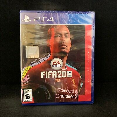 FIFA 20 Champions Edition (PS4 / PlayStation 4) BRAND NEW / Region Free