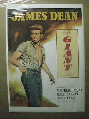 vintage James Dean original 1987 Poster movie Giant Scene 12743