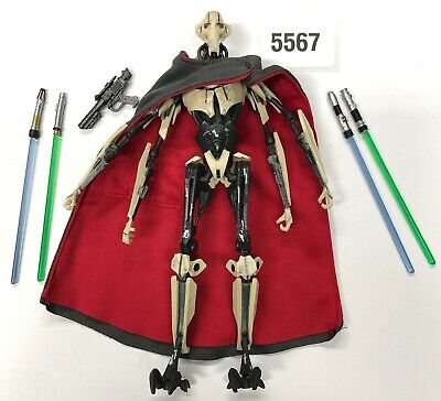 """Star Wars 6"""" Inch Black Series GENERAL GRIEVOUS Revenge of the Sith Hasbro"""
