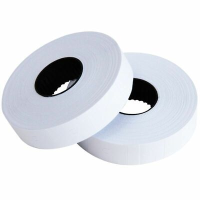 1/5/10 Rolls Self-adhesive MX-6600 Gun Labeller Price Labels Mark Sticker White