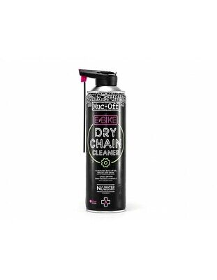 Nettoyant de chaîne MUC-OFF eBIKE Dry Chain Cleaner spray 500ml