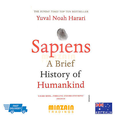 Sapiens: A Brief History Of Humankind (Paperback) - Brand New - Free Post