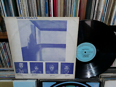 DIRE STRAITS - Self Titled KOREA LP. Diff Members, Lyric, Blue Cover.
