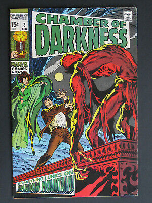 CHAMBER OF DARKNESS  # 2,3,4,5,7,8 US MARVEL  1969-1970 zur Auswahl / to select