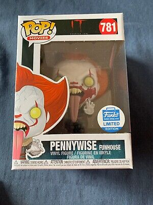 New Funko Pop Up Shop Movies IT Pennywise Funhouse Limited Edition Exclusive 781