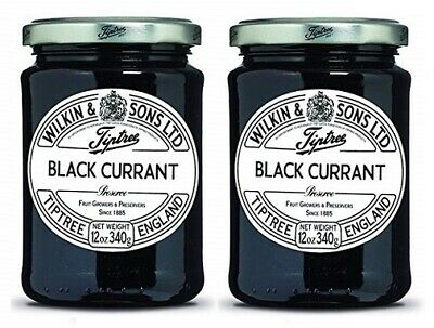 Wilkin & Sons Ltd. Tiptree Black Currant Preserve 2 Pack