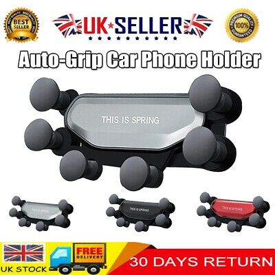 360° Gravity Auto-Grip Car Air Vent Mount Holder Stand Cradle for Cell Phone GPS