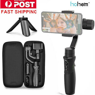 Hohem iSteady Mobile + 3 axes Handhele stabilisateur pour iPhone Samsung Huawei