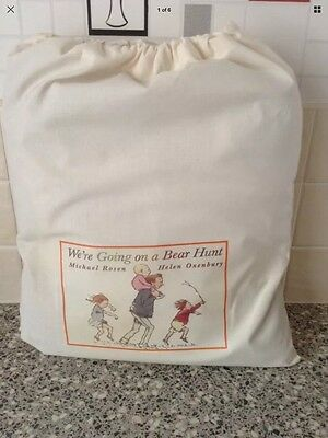 LARGE, TEACHERS STORY RESOURCE SACK BAG - Were Going on a Bear Hunt