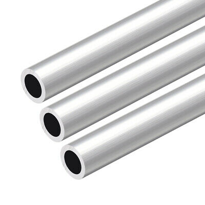 17.5MM ODX 12MM ID 2.75 mm THICKNESS 6061 ALUMINUM TUBE PIPE ROUND L=12 INCH