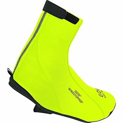 GORE BIKE WEAR Road Windstopper Soft Shell - Botin de ciclismo, color amarillo,