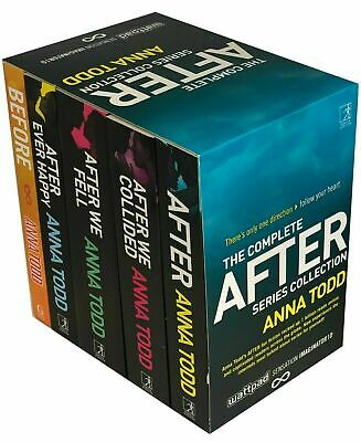 The Complete After Series Anna Todd Collection 5 Books Box Set Fiction | Anna To