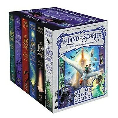 The Land Of Stories 6 Books Series Collection Deluxe Box Set - Chris Colfer NEW
