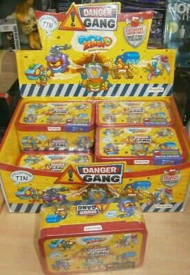 SuperZings Rivals of Kaboom Series 4 Danger Gang Collector tin inc 5 exclusive
