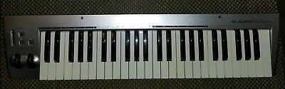 M-Audio KeyStudio 49 Key USB Keyboard - Tested Works Perfectly! W/ USB Cable