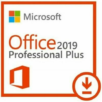 Microsoft Office 2019 PRO Plus Official License Key FOR 1 PC GENUINE