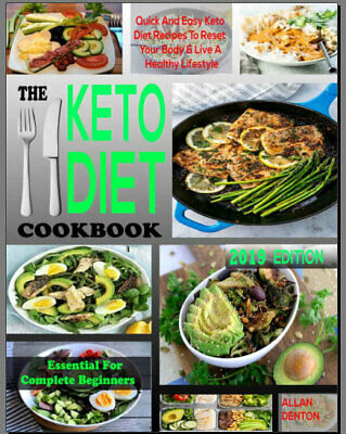 THE ESSENTIAL KETO DIET COOKBOOK FOR COMPLETE BEGINNE 2019 Eb00k FAST Delivery