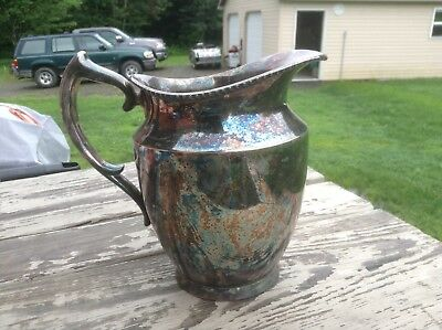 Poole Silver Co. Collectable Serving Pitcher 1023