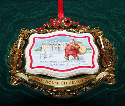 2011 The White House Historical Association Christmas Tree Ornament