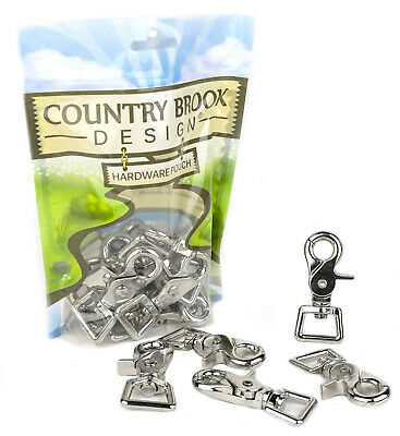 50 - Country Brook Design® 3/4 Inch Trigger Swivel Snap Hooks