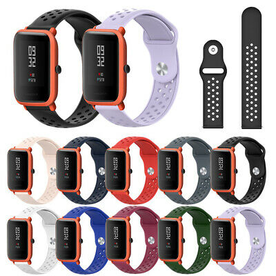 Wristbands Bracelet Watch Band 20mm Silicone Sport Strap For Huami Amazfit Bip-