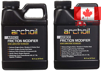 AR9100 Friction Modifier VALUE PACK - TWO 16oz Bottles of AR9100 for TWO Powe...