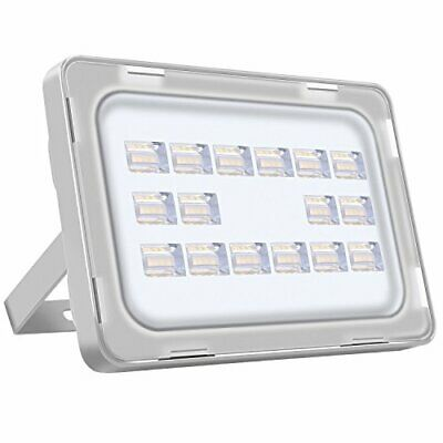 Viugreum 50W LED Flood Light Outdoor, Thinner and Lighter (50W cold white)