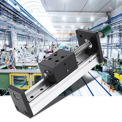 500mm Effective Stroke Aluminum Alloy Linear Guide Rail CNC Automation Industry