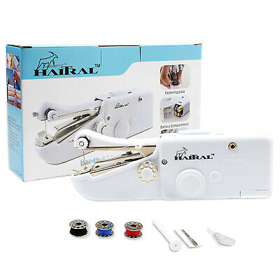 Portable Smart Mini Electric Tailor Stitch Fabric Hand-held Sewing Machine Home