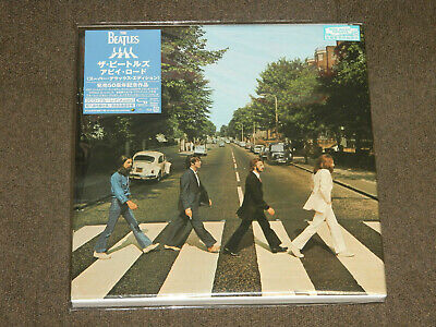 2019 The Beatles Abbey Road 50Th Super Deluxe Japan 3 Shm Cd + Blu-Ray