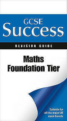 """""""AS NEW"""" Mapp, Fiona C, Maths - Foundation Tier: Revision Guide (Letts GCSE Succ"""