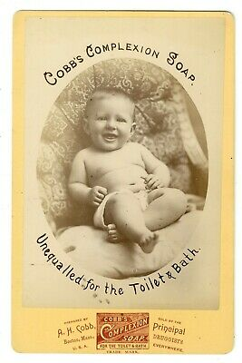 Advertising Cabinet Card for Cobb's Complexion Soap