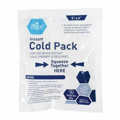 """Medpride Instant Cold Pack (5""""x 6"""") - Set of 24 Disposable Cold Therapy Ice Pack"""