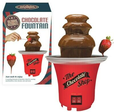 3 Tier Electric Chocolate Warmer Dip Fountain Christmas Party Fondue Melting Pot