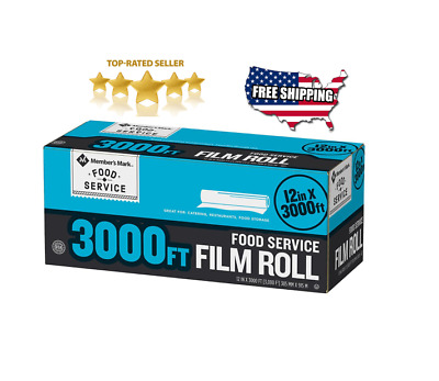 """Member's Mark Foodservice Film (12"""" x 3,000') Free Shipping"""