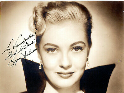 Universal B Movie Actress Lori Nelson ,Signed Vintage Studio Photo.