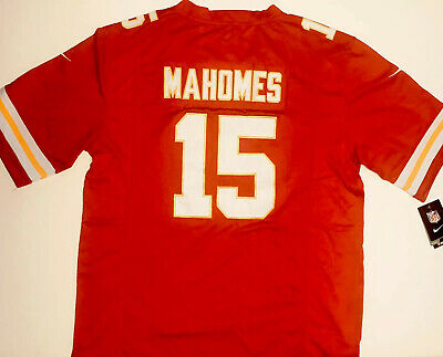 🔥NEW! Patrick Mahomes ON FIELD STYLE Kansas City Chiefs Stitched Jersey 15 Red