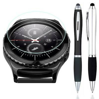 Stylus + Tempered Glass Screen Protector For Samsung Gear S3 Classic / Frontier