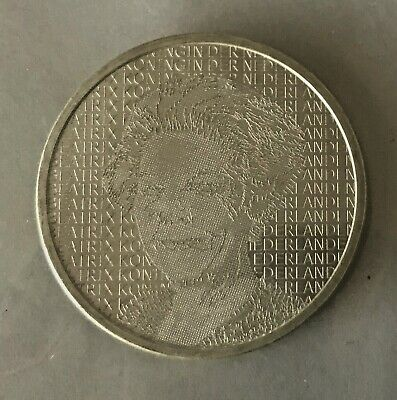 2006 Netherlands 5 Euro Rembrandts Birthday Silver Coin Uncirculated