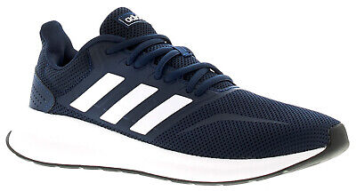 Adidas Originals Runfalcon Mens Running Trainers Gym Shoes Navy UK Size