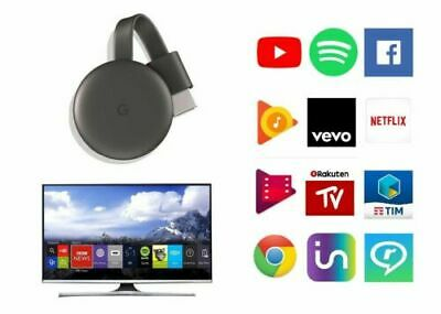 Google Chromecast 3 connette Smatrphone e Tablet alla TV Nuovo