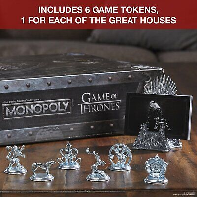 Monopoly Game of Thrones from Hasbro Gaming - 2-6 Players