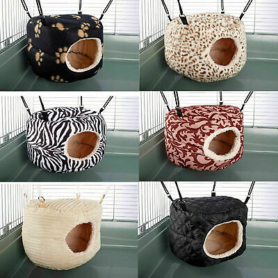 Hammock For Ferret Chinchilla Rat Rabbit Animal Bed Toy House Huge Rodent-Hive