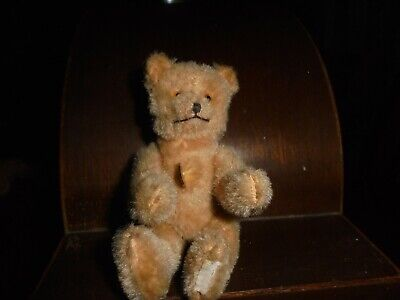 Rare Old  4 inch Miniature Mohair Berg bear with ID