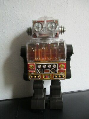 Roboter Space Tin Toy Blechspielzeug 26 cm Japan 70er Jahre