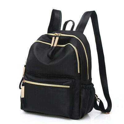 Women Oxford Cloth Backpack Anti-theft Casual Travel Backpack Schoolbag Outdoor